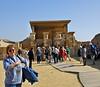Temple complex at Saqqara