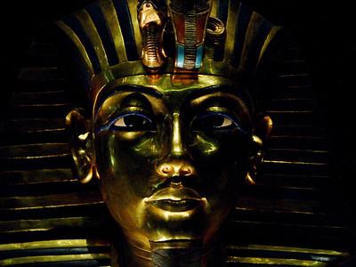 Tutankhamun - mask.