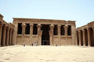 Court at Edfu