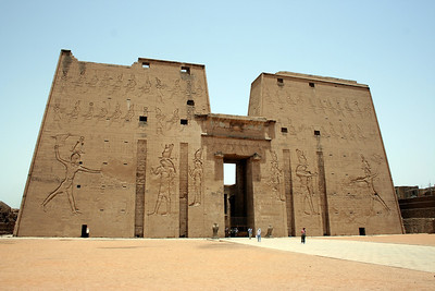 Pylons at Edfu