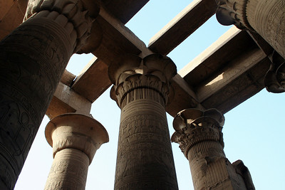 Columns at Kom Ombo