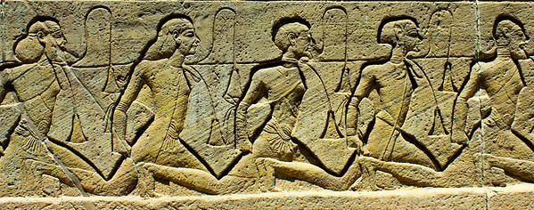 Prisoners of war, Ramesses.
