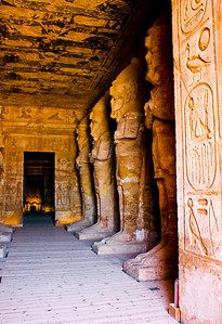 Inside Ramesses' Temple