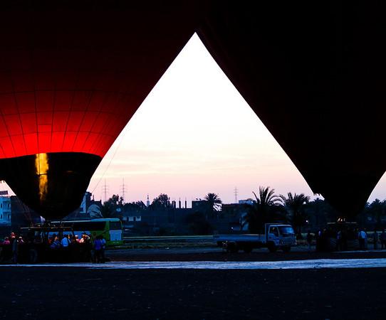 Ballooning in Luxor 2011