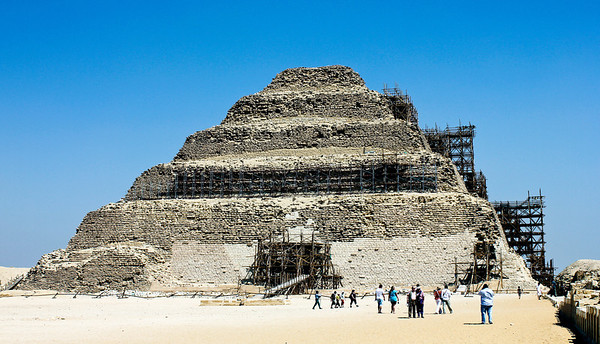 Saqqara Pyramids 2011