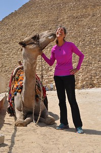 Nothing like a frothy kiss from a camel. Loved it!
