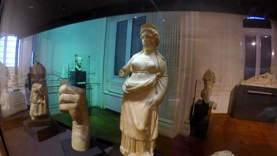 Statue of Isis at the Alexandria Museum.