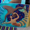 Twin flame mermaids of the Nile. A gorgeous piece by artist friend Brian Flynn.