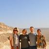 Monika, Johanna, Nick and I at famed Amarna.