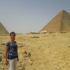 I say hello to my favorite sacred site, the Great Pyramid.