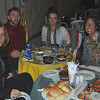 Our group dines at the Horus Resort on the Nile in El Minya.