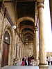 We all walked without shoes (required) among the beautiful arches and doorways of Mohammed Ali's alabaster mosque.