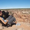 Seeing visions at the powerful Canyon de Chelly in northern Arizona on my southwestern solo.