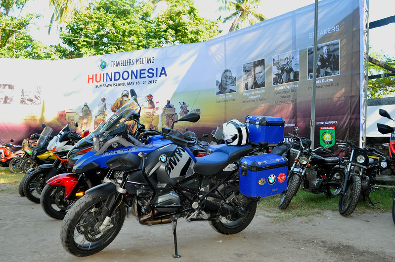 Launching the first Horizons Unlimited Indonesia, a worldwide adventure motorcycle event inspiring many to live life fully.