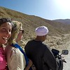 Nicole and Monika catch a ride on a scooter to the Valley of the Monkey where Tutankhamun was originally buried, but is now known as the Tomb of Ay.