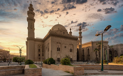 Mosque-Madrassa of Sultan Hassan, Egypt