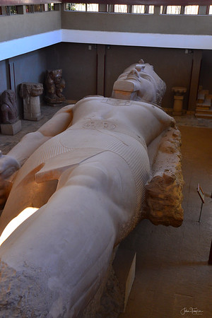 The colossus of King Ramses II