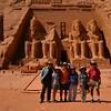 The gang of 6 at Abu Simbel