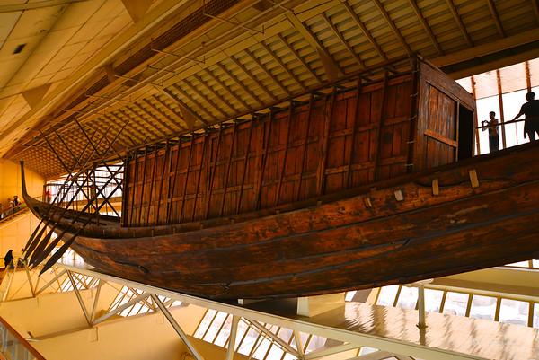 Khufu's solar boat