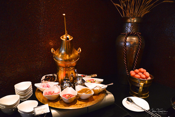 Breakfast at the Fairmont Nile City Hotel