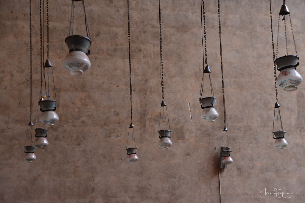 Lamps  - Sultan Hassan Mosque