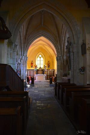 Church at Angoville au Plain