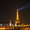 Eiffel Tower.  Walking around on our one night in Paris