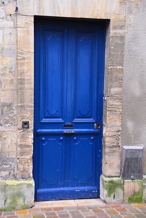 The Blue Door of Bayeux