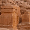 Djinn blocks announce the entrance to Petra