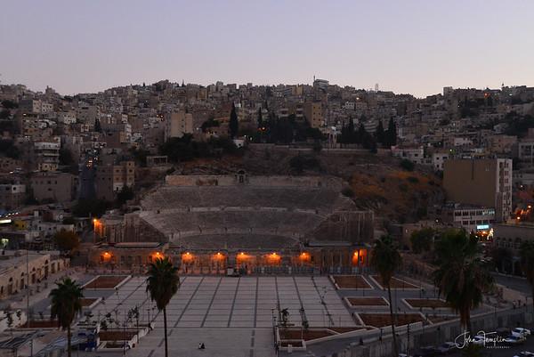 Amman, Jordan - Roman amphitheater