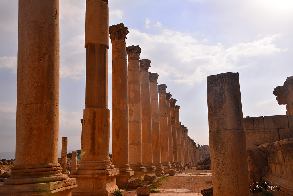 "The Cardo ""Colonnaded Street"""