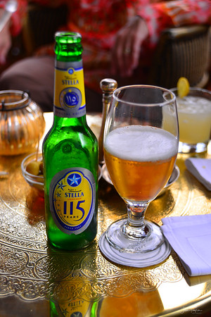 Egyptian beer was pretty good