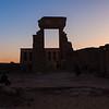Sunset Over Abidos