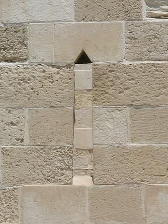 Window in Fort in Alexandria, Egypt