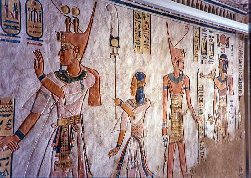 Tomb of Amon-Her_Chepshef son of King Ramesses III in the Valley of the Queens 12th C BC