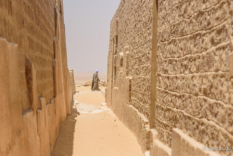 Between the Tombs