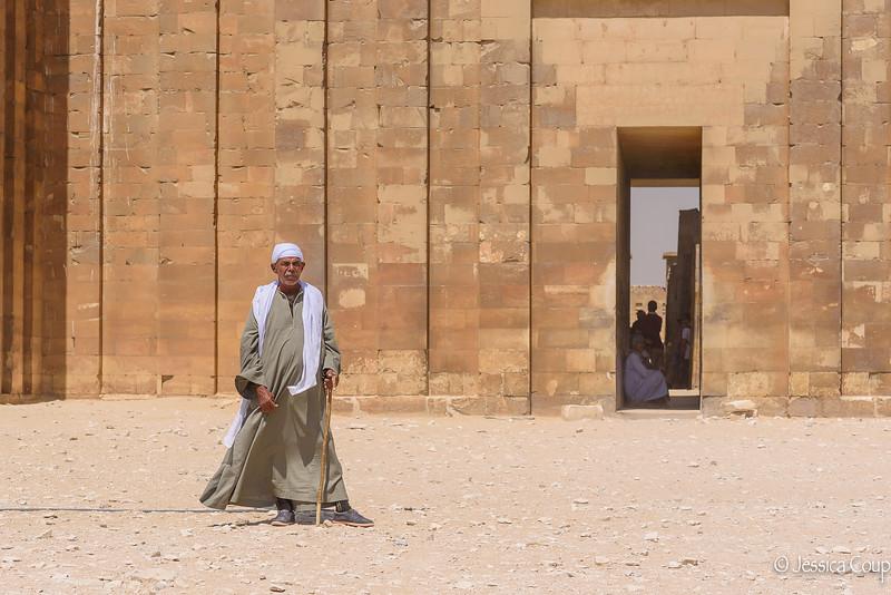 Guard at Saqqara