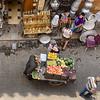 Selling Fruits on Muizz Street