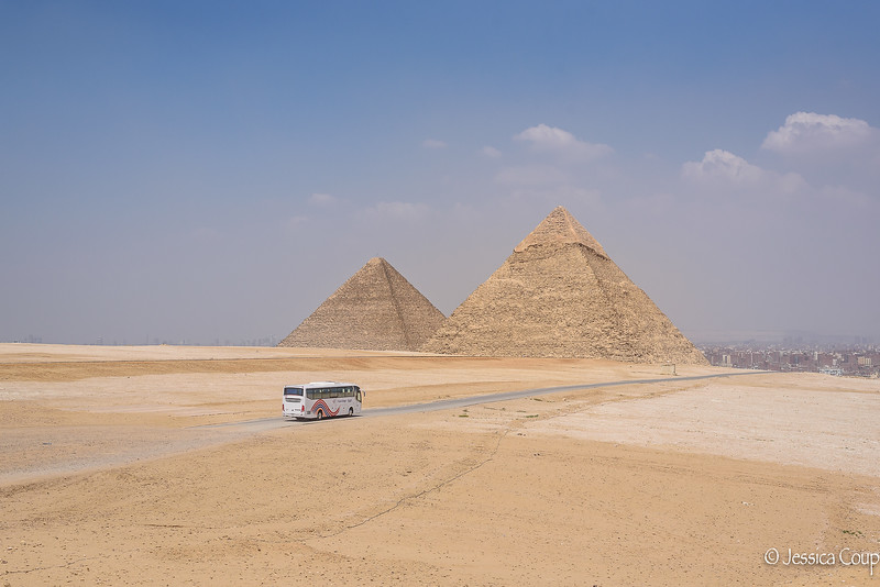 Follow the Road Next to the Pyramids...