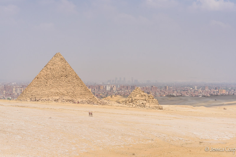 Pyramid on the Outside of Town