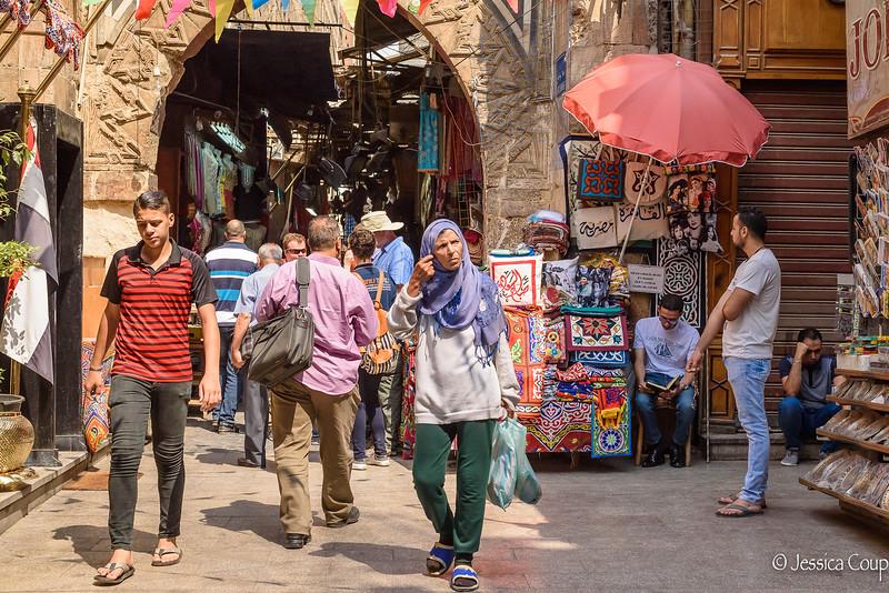 Entrance into Cairo Khan El-Khalili