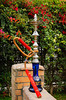 A Sheesha or hookah at an outdoor patio at the Sheraton Heliopolis, Hotel in Cairo, Egypt.