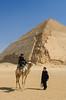 The Bent Pyramid of Snefru near Dashur, Egypt.