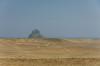 Desert landscape near Dashur, Egypt.