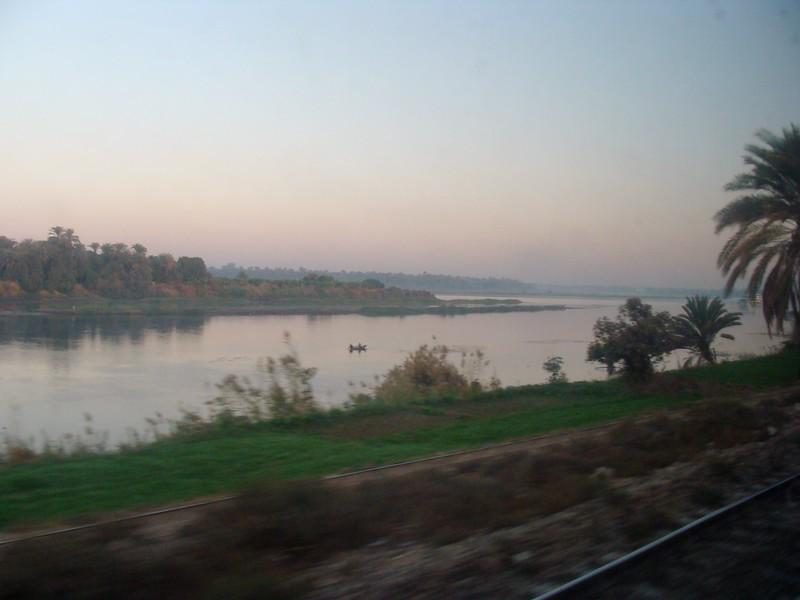 Nile River at Sunrise