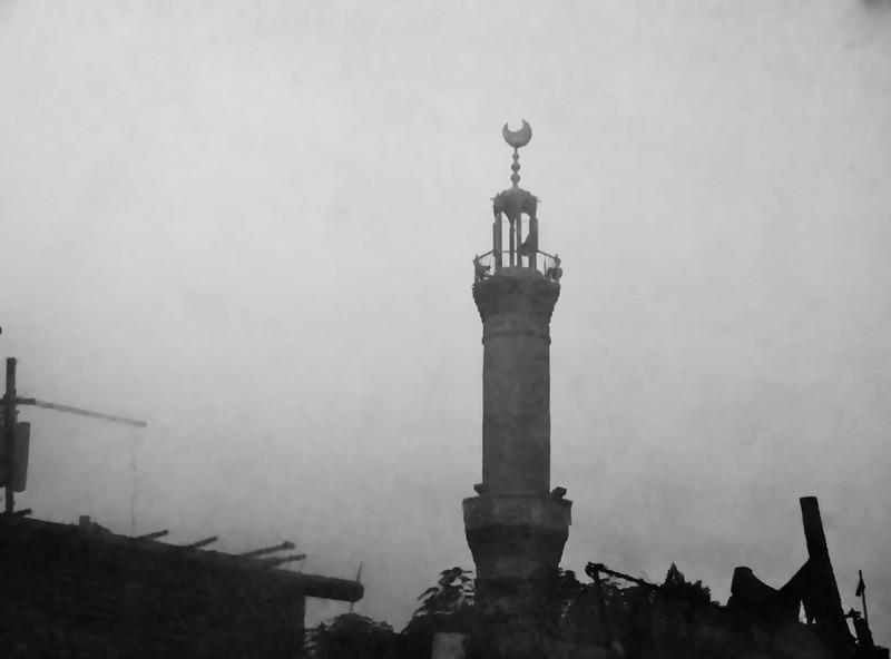Minaret in the Morning