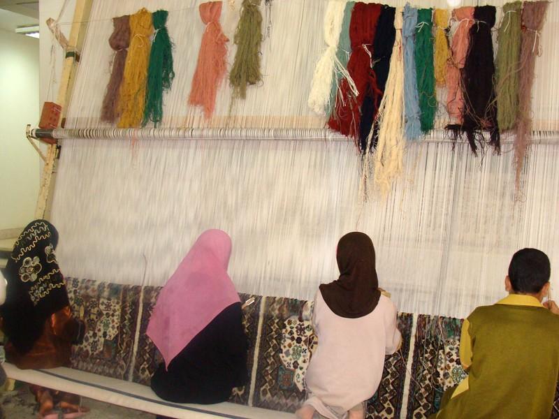 Egyptian Rug Making