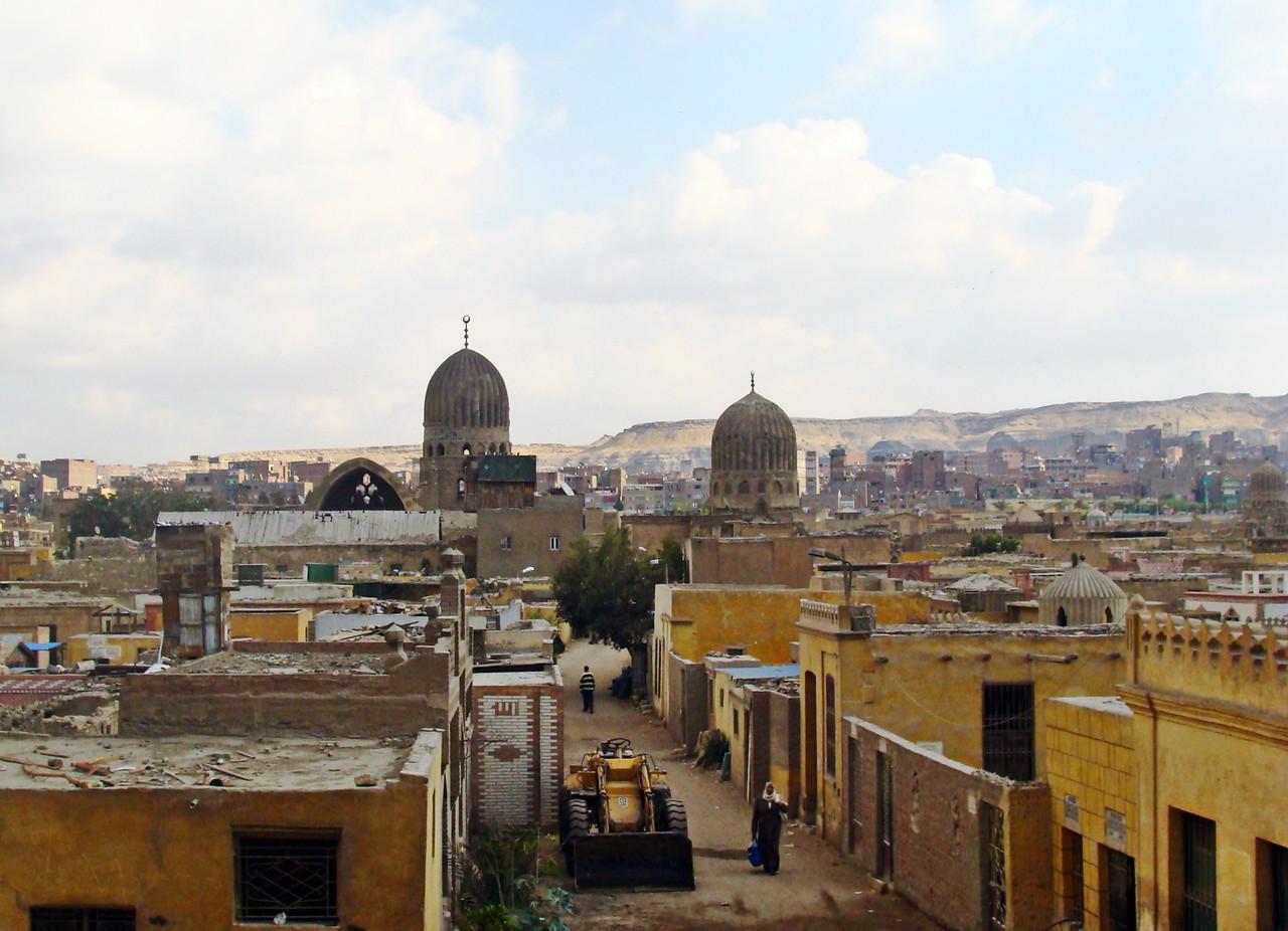 Entering Cairo from the Sinai Desert
