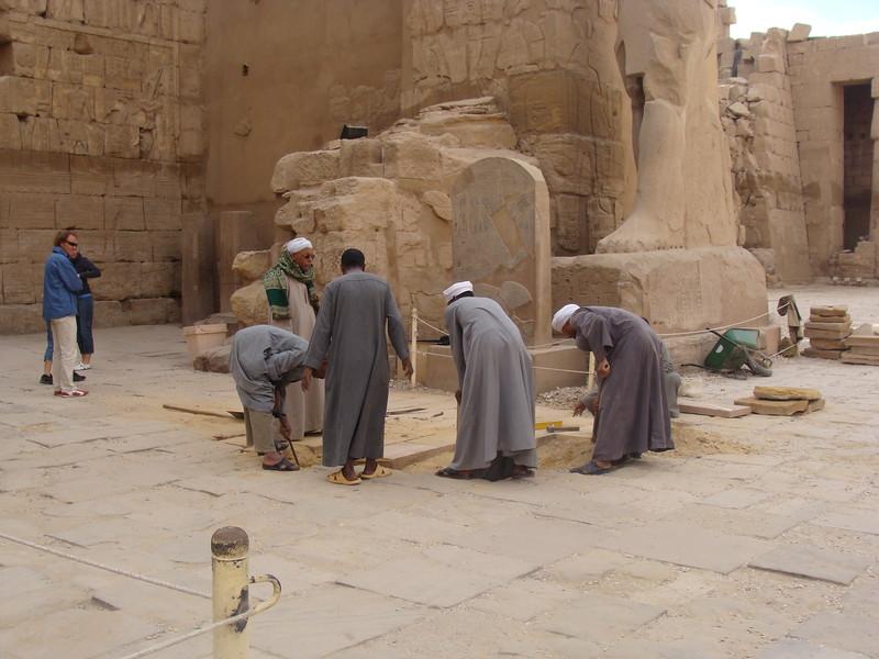 Karnak Restoration