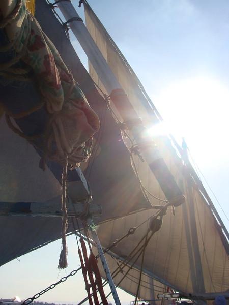 Silver Moon Felucca Sail